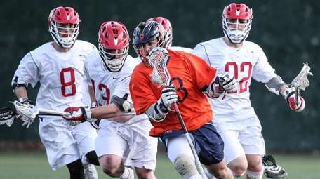 Syosset players are in hot pursuit of Marc