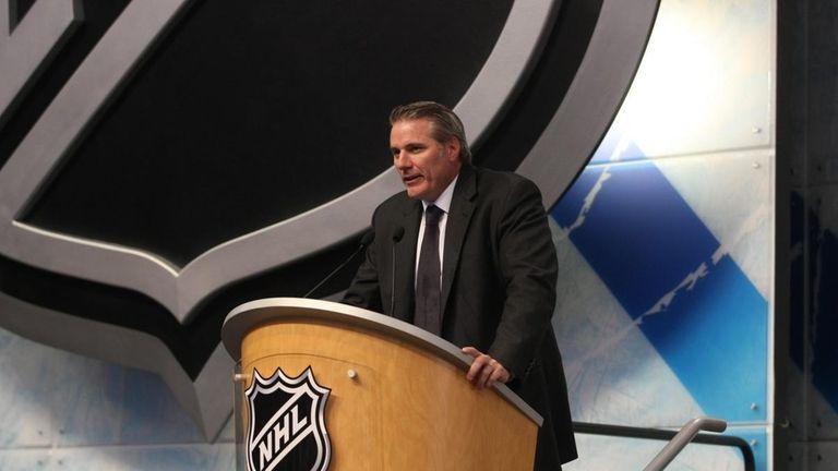 FILE - New York Islanders General Manager Garth