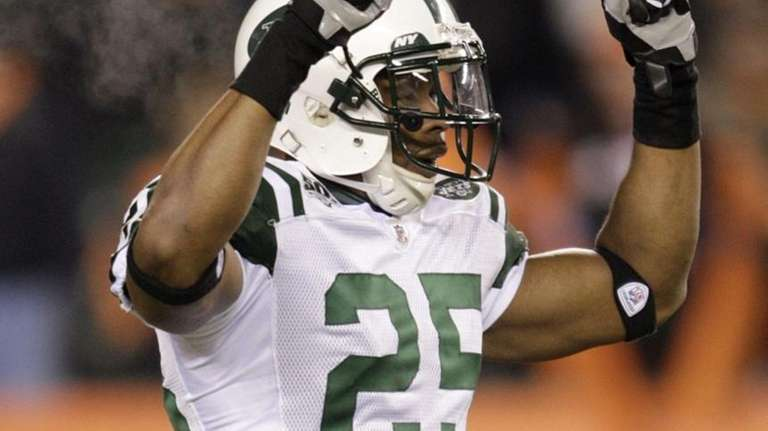 Safety Kerry Rhodes #25 of the New York