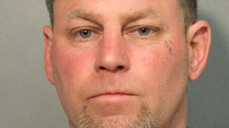 John Stehle, 43, of Farmingdale was arrested Tuesday