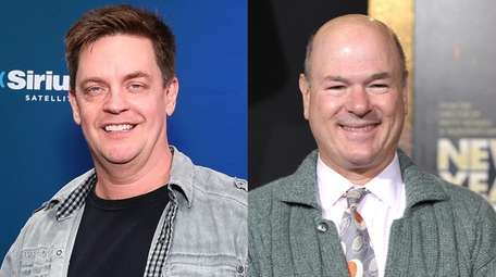 Jim Breuer, left, in Manhattan on June 16,
