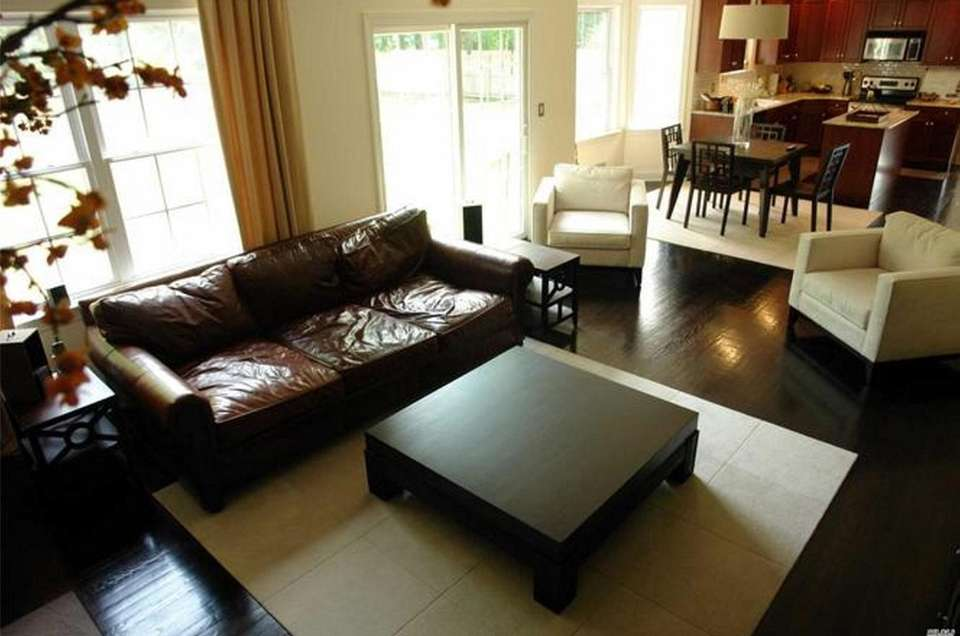 The family room in this Kings Park Colonial