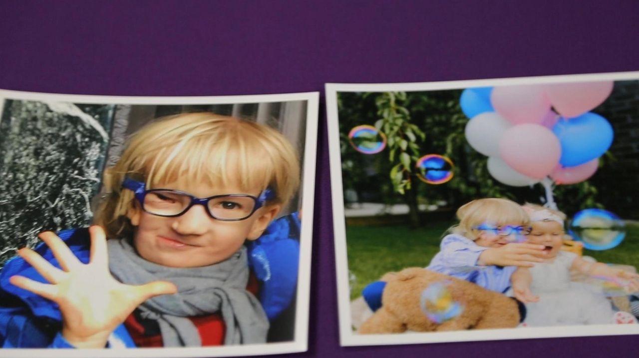 Rokas Zalaga, 5, of Lithuania, at Cohen Children's