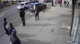 The NYPD on Tuesday released footage of police