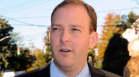 Rep. Lee Zeldin, seen here on Oct. 27,