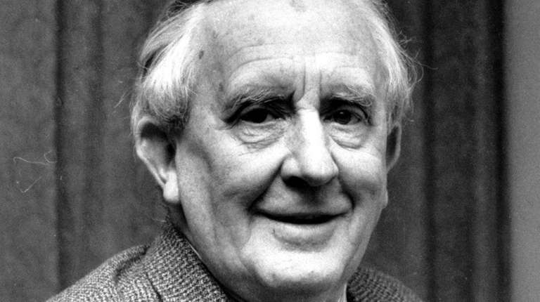 Author J.R.R. Tolkien in 1967. An unpublished book