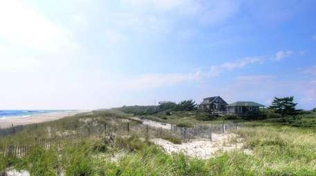 The Fire Island home was featured in the