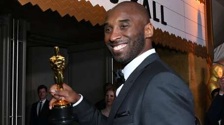 Kobe Bryant attends the 90th Annual Academy Awards