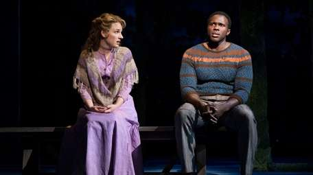 Jessie Mueller and Joshua Henry sing beautifully as