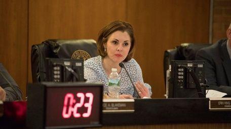Councilwoman Erin King Sweeney, seen here on Feb.
