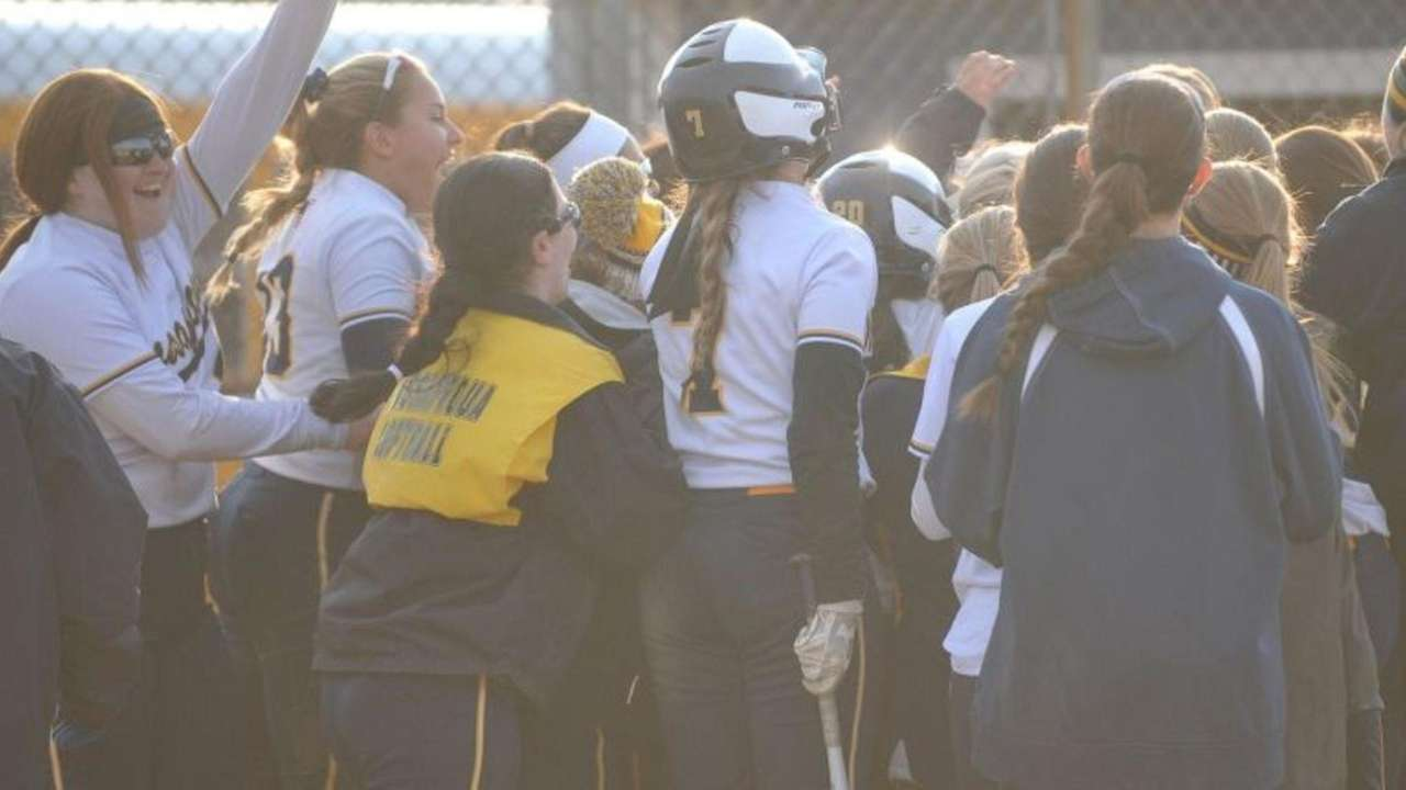 Massapequa defeated East Meadow, 8-4, in Nassau AA-I
