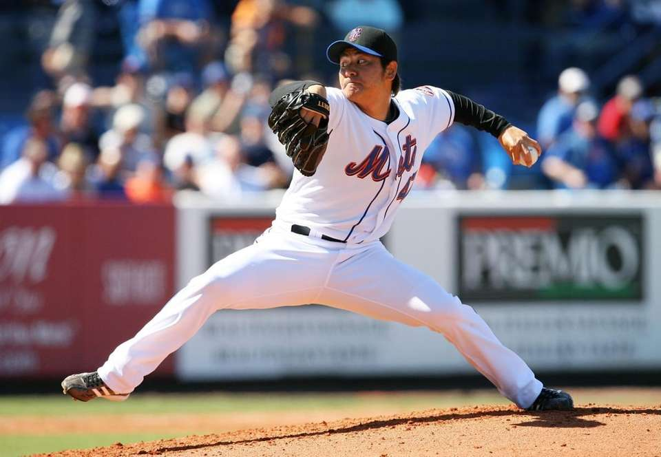 HISANORI TAKAHASHI Relief pitcher, 26, first year with