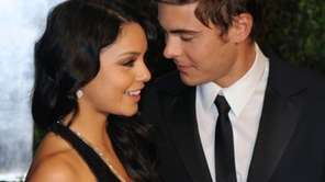 Vanessa Hudgens and Zac Efron arrive at the