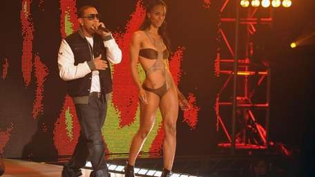 Ludacris performs onstage at BET's Rip The Runway