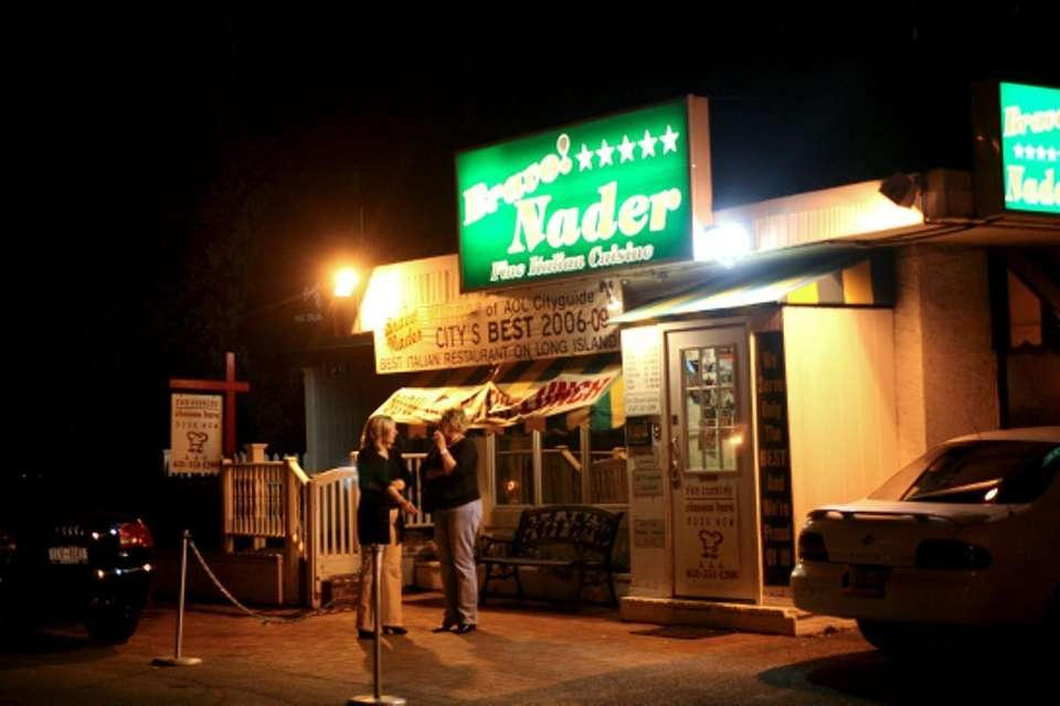 Bravo! Nader, an Italian restaurant in Huntington, is