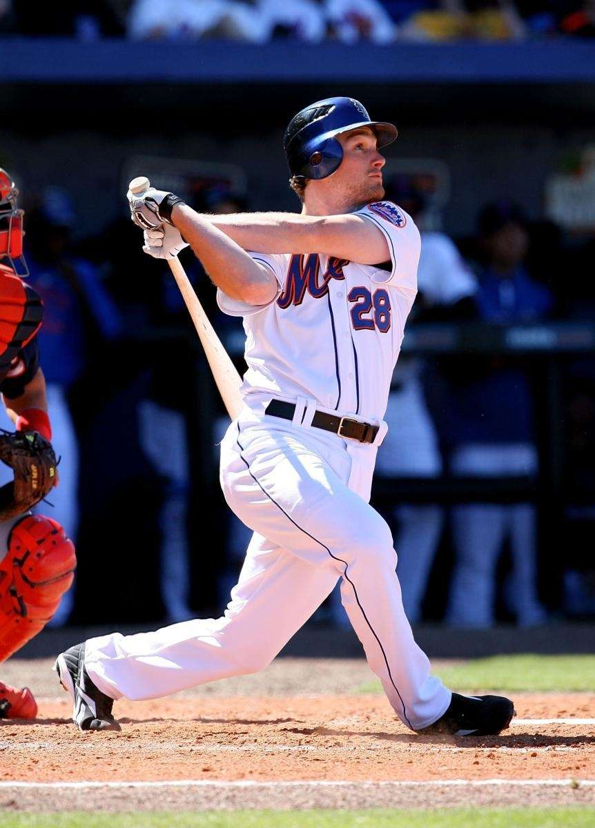 First baseman Daniel Murphy #28 of the New