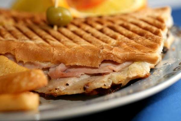 Another look at La Vana's Cuban sandwich made