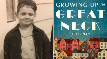 Ewing Walker as a child in Great Neck,