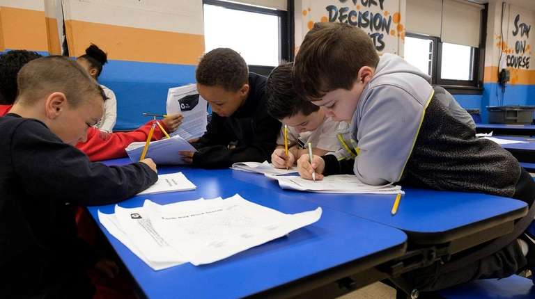 Third-graders who opted out of the state English
