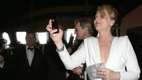 Actress Meryl Streep attends the 82 Annual Academy