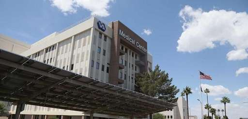 Exterior view of the Veterans Affairs Medical Center