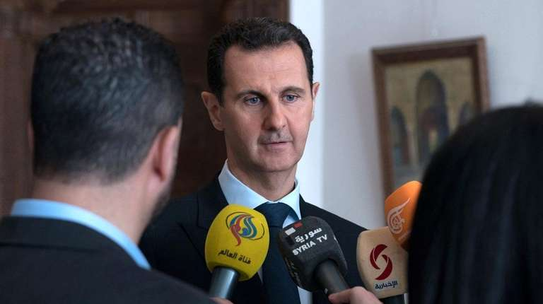 Syrian President Bashar Assad is accused of gas