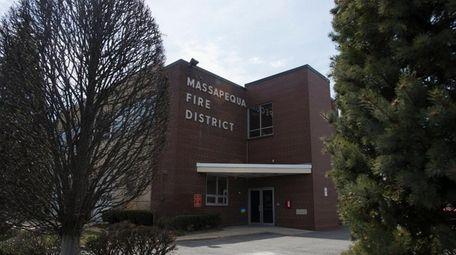 The Massapequa Fire Department, on Merrick Road, Massapequa,