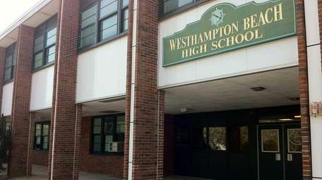 The Westhampton Beach High School is located on