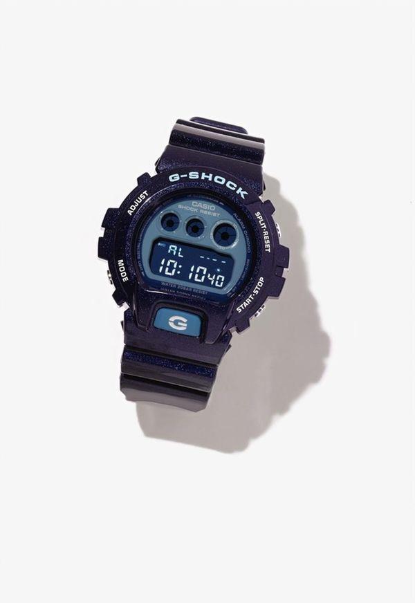 G-SHOCK Metallic blue digital watch will be one
