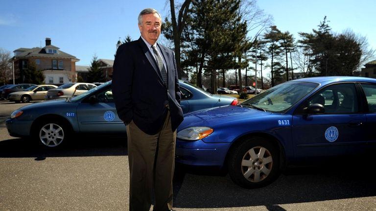 Town of Islip Supervisor Phil Nolan poses next