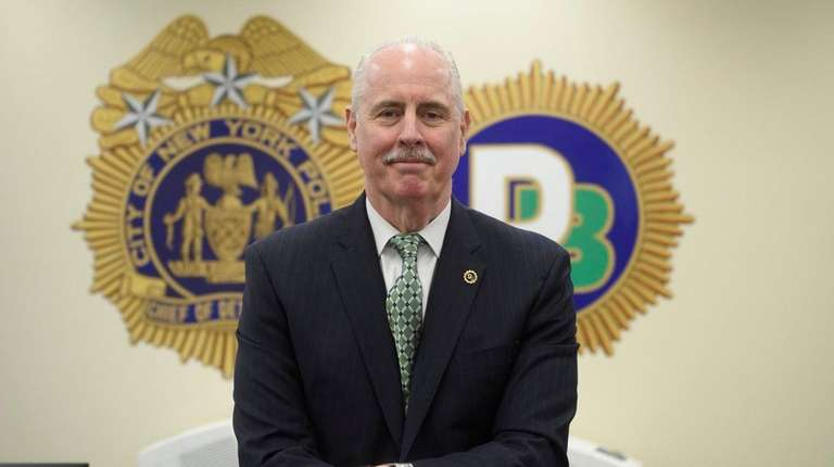 NYPD Chief of Detectives Robert Boyce at One