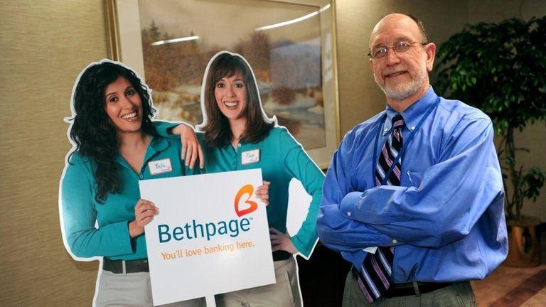 Kirk Kordeleski, president of the Bethpage Federal Credit