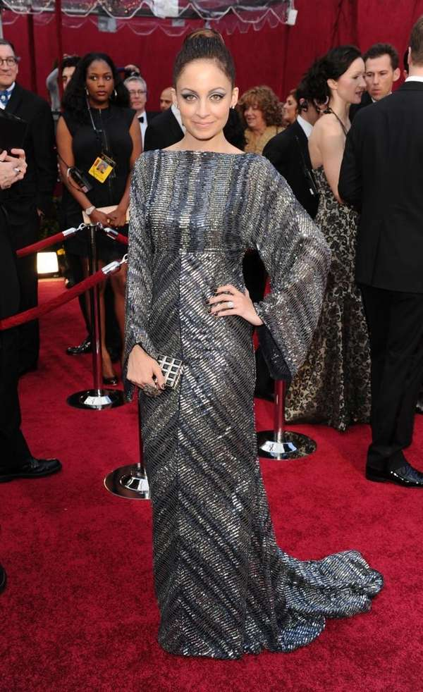 Nicole Richie arrives at the 82nd Annual Academy