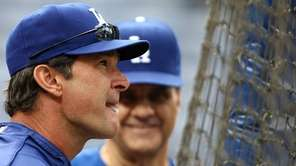 Dodgers hitting coach Don Mattingly confirmed the team