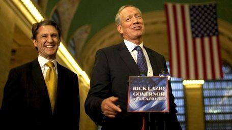 Former Governor George Pataki endorses gubernatorial candidate Rick