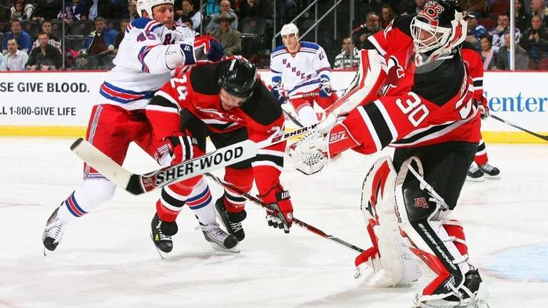 Goaltender Martin Brodeur #30 of the New Jersey