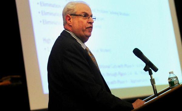 Lindenhurst schools superintendent Richard Nathan speaks about planned
