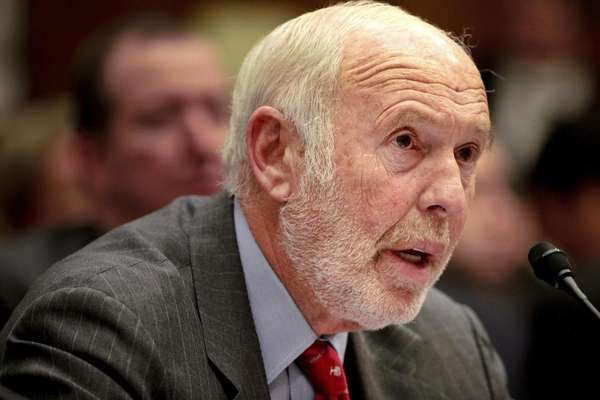 James Simons, director of Renaissance Technologies Corp., testifies