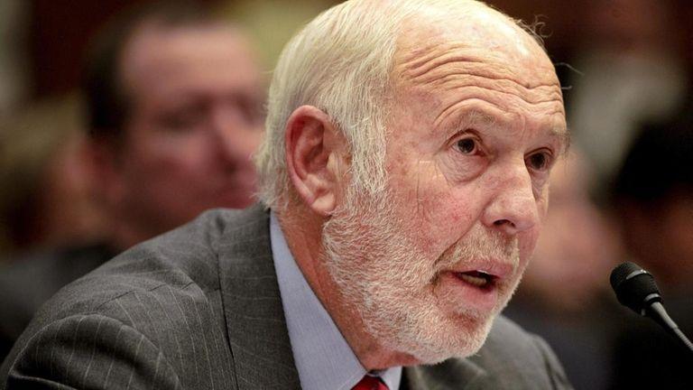 James Simons, director of Renaissance Technologies Corp., testifies