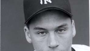 Shortstop Derek Jeter during his first spring training
