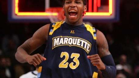 Dwight Buycks #23 of the Marquette Golden Eagles