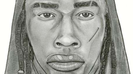 Police released a sketch of a man they