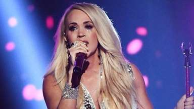 Carrie Underwood performs at the Academy of Country