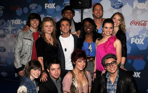 Top 12 contestants, top row from left, Tim