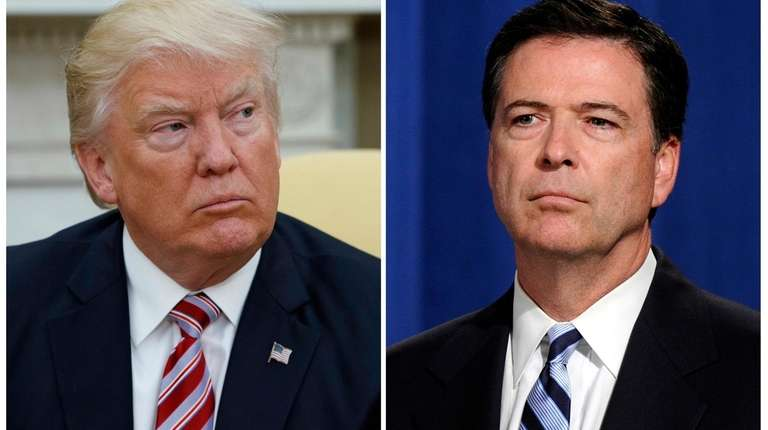War of words between Trump, Comey escalates over moral assault
