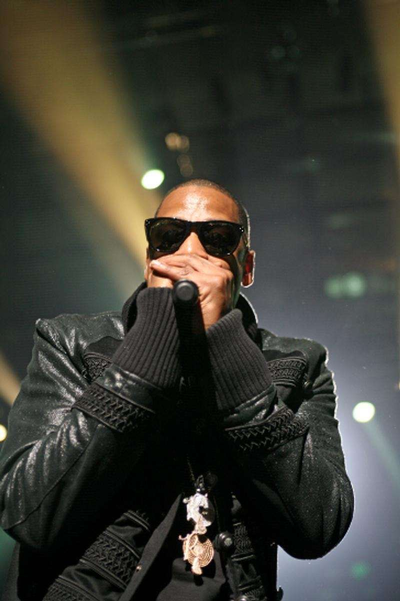 Brooklyn-born Jay Z performs at the Nassau Coliseum