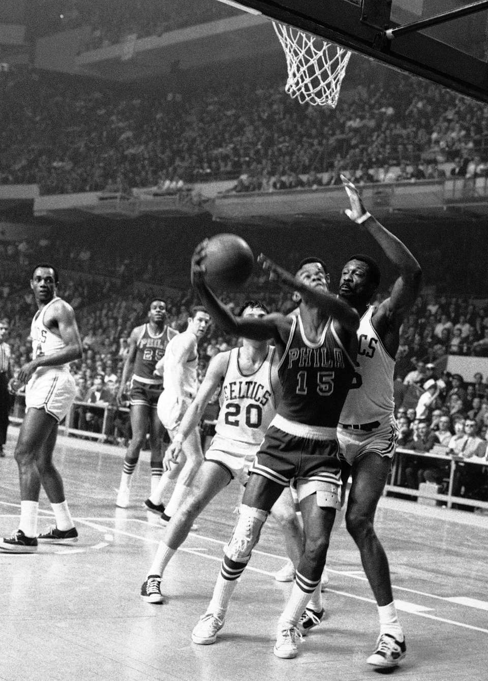 Hal Greer, a Hall of Fame guard and