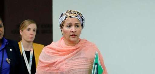 Deputy Secretary-General Amina Mohammed was among the UN