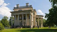 Vanderbilt Mansion National Historic Site in the Hudson