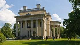Vanderbilt Mansion National Historic Site in the Hudson